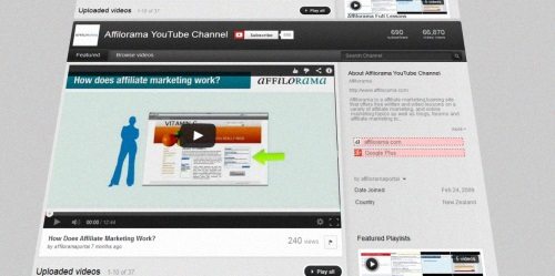 Nongaming Affiliate Marketers Using Videos Right
