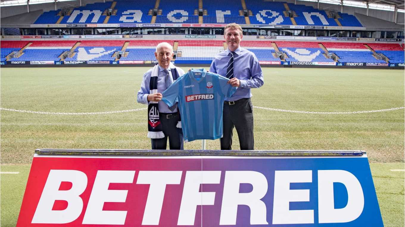 Betfred Launches Forex Platform with Wanderers Sponsorship Deal.