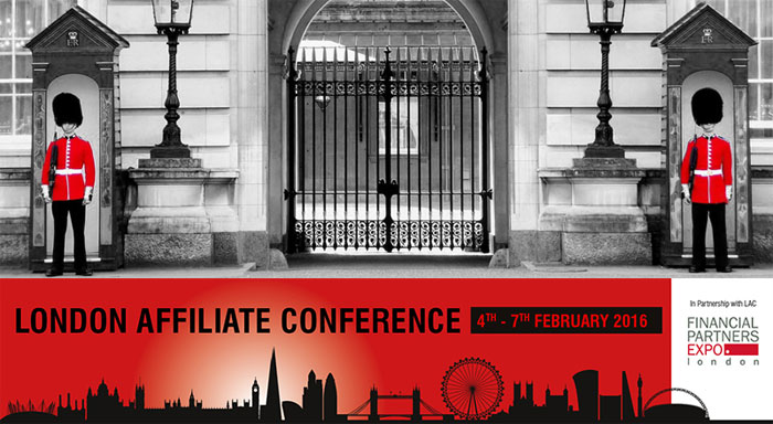 Get Ready for the 2016 London Affiliate Conference