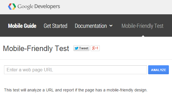 What to Do With Google's Mobile-Friendly Test Tool