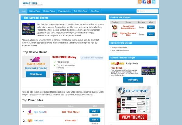 Slots WordPress Themes