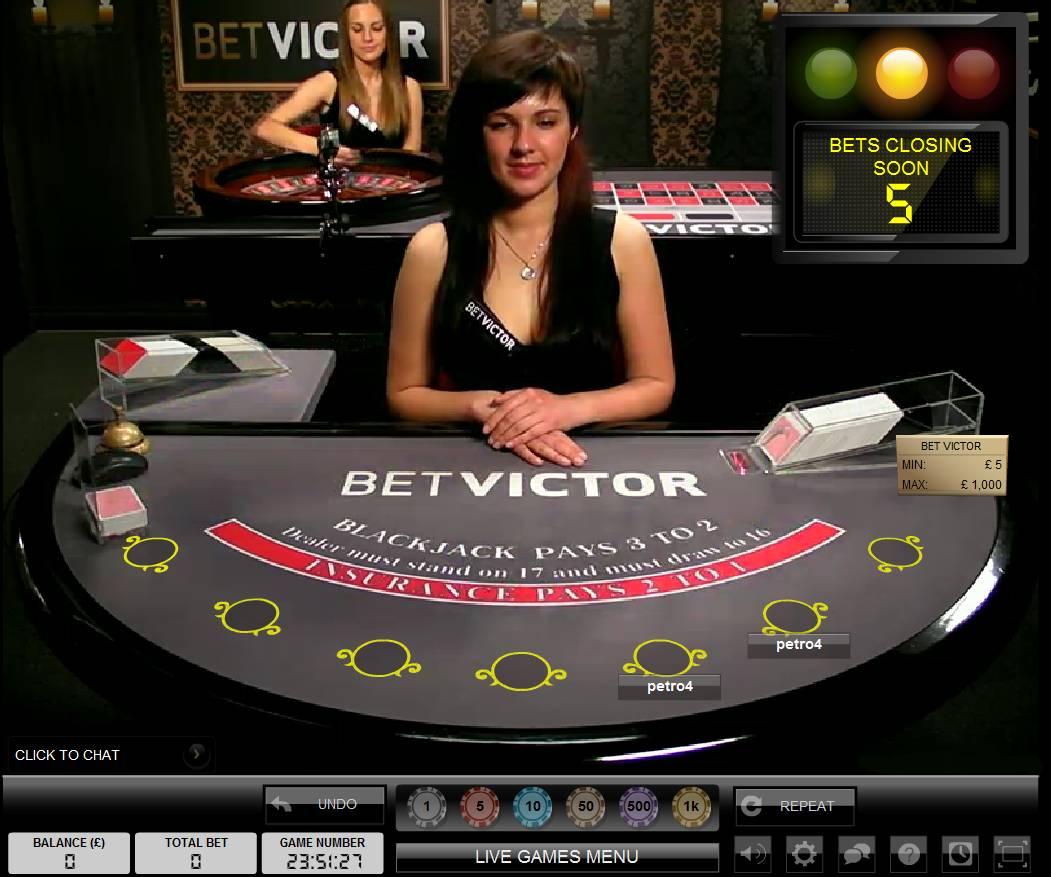 Betvictor Shuts Down In-House Live Casino Studio
