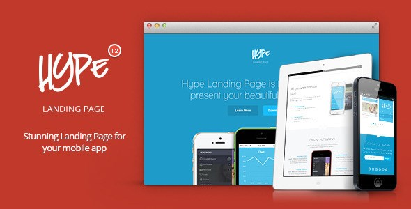 11 Premium Responsive Landing Page Templates