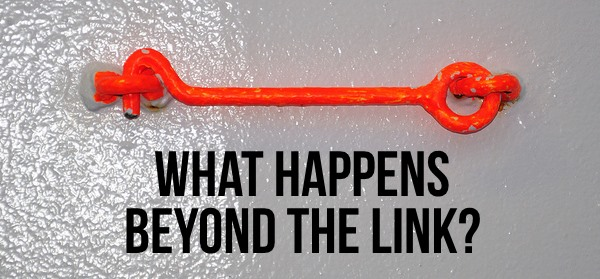 What Happens Beyond the Link?